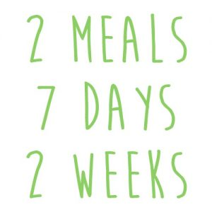 Product option: 2 Meals for 7 Days (2 Weeks)
