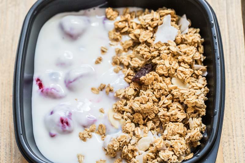 Meal Option 8 - Granola, Yoghurt & Dried Fruit