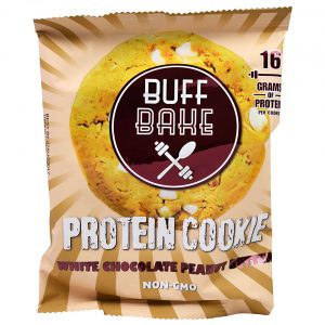 Buff Bake Protein Cookie - White Chocolate Peanut Butter