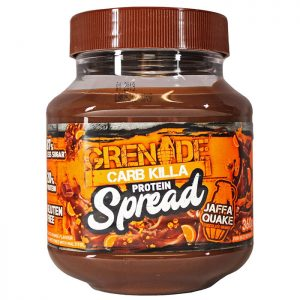 Tub of Grenade Carb Killa Protein Spread - Jaffa Quake