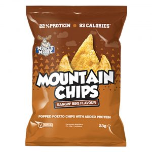 Muscle Moose Mountain Chips - BBQ Flavour